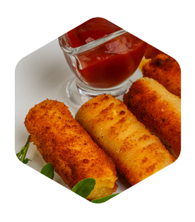 Mozzarella Sticks (5)